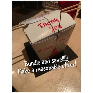 Bundle and save! All Reasonable offers considered!